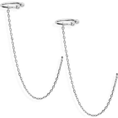 Sterling Forever Ear Cuff Threaders