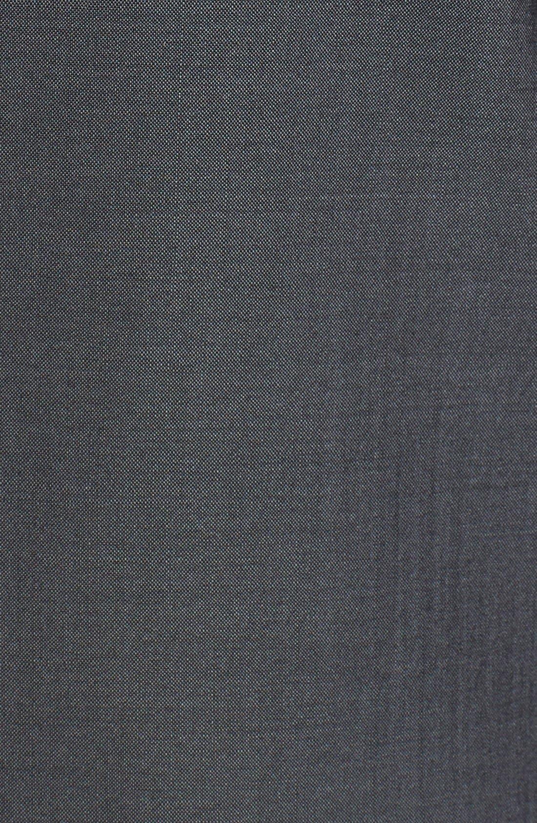 ,                             Trim Fit Wool & Mohair Blazer,                             Alternate thumbnail 8, color,                             020