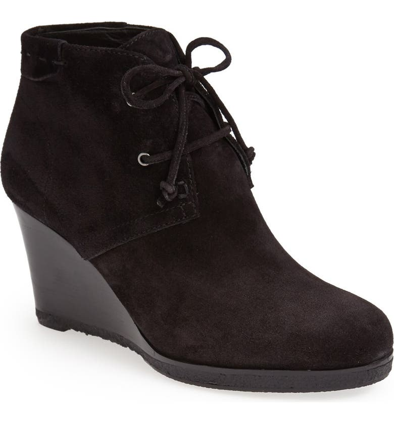 VIA SPIGA 'Mirren' Wedge Bootie, Main, color, 002