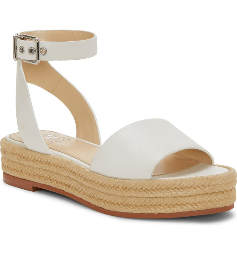 VINCE CAMUTO Kathalia Platform Sandal, Main, color, PURE LEATHER