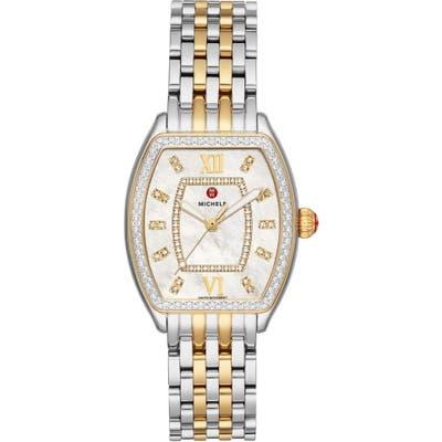 Michele Releve Diamond Two-Tone Watch Head & Interchangeable Bracelet, 31Mm Mm