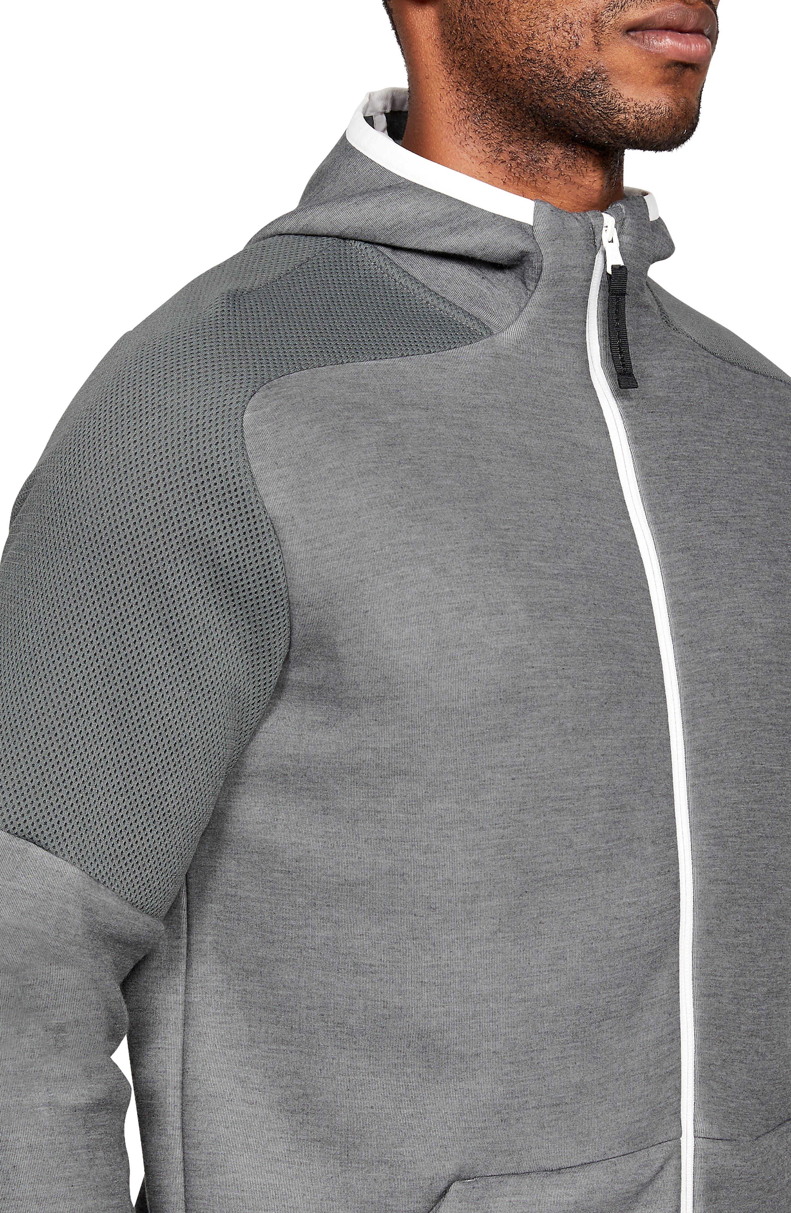 ,                             Unstoppable Move Light Full-Zip Hooded Sweatshirt,                             Alternate thumbnail 3, color,                             002