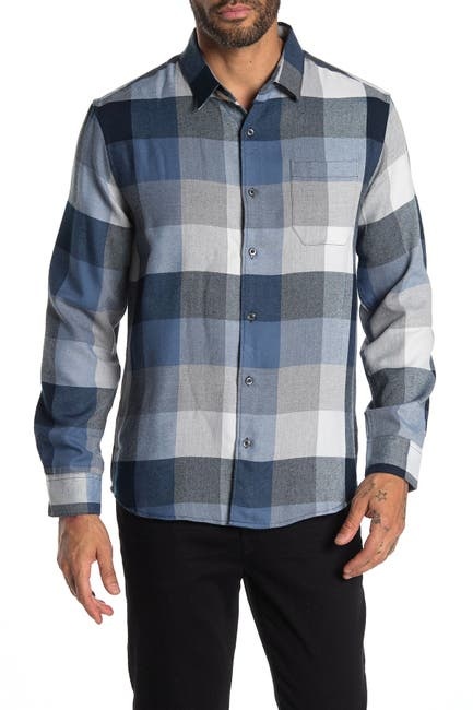 Image of 7 Diamonds Old Town Road Plaid Flannel Shirt