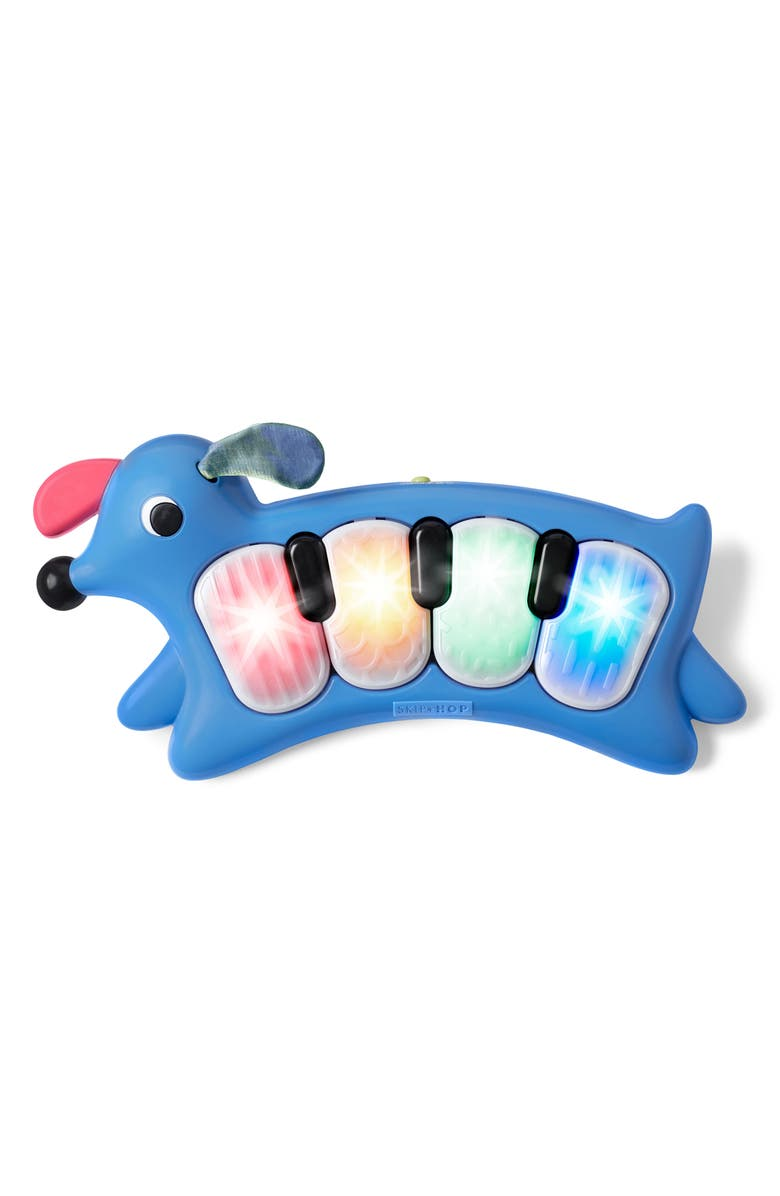 SKIP HOP Vibrant Village Light-Up Dog Piano, Main, color, 400