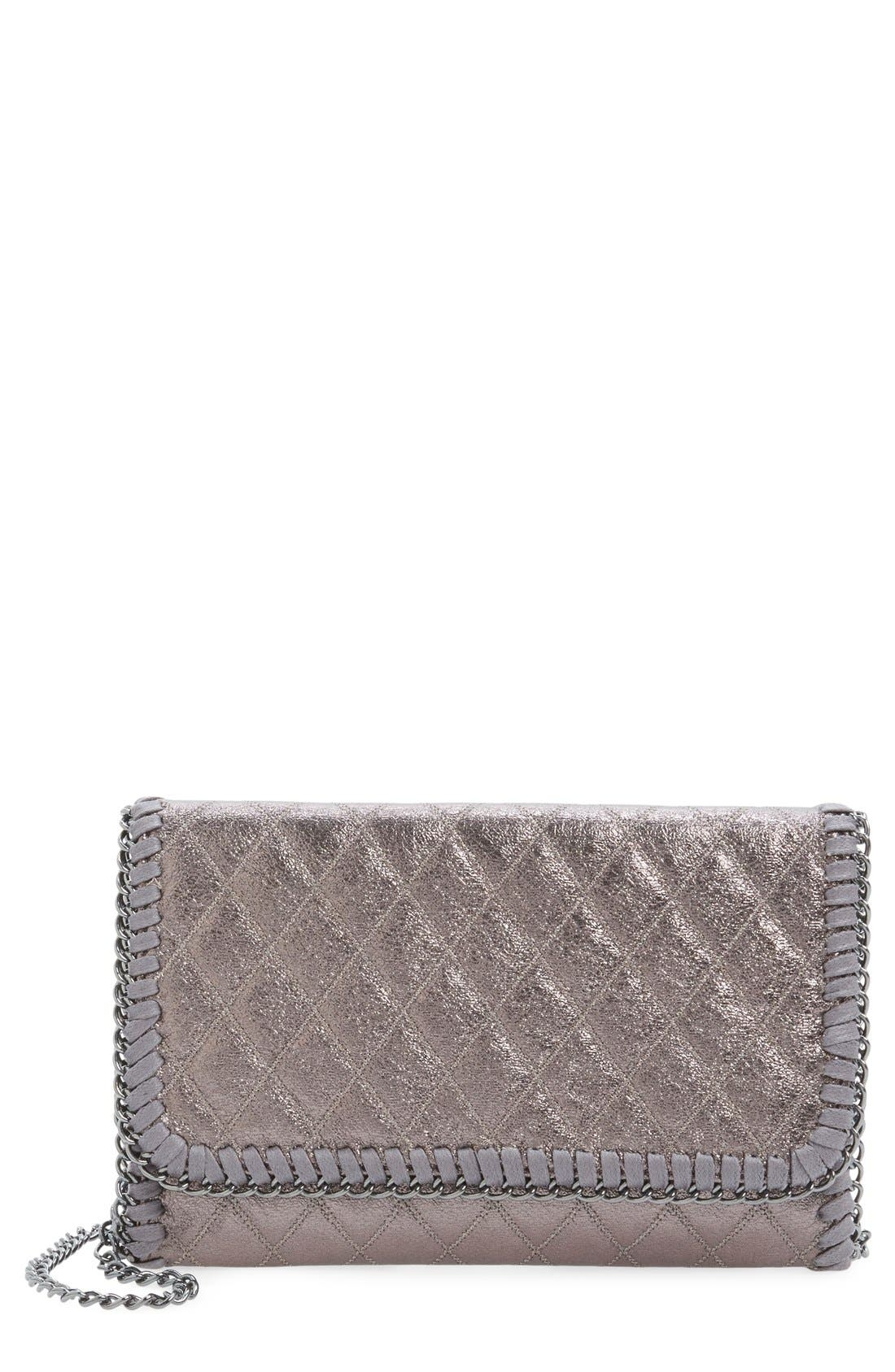 ,                             Quilted Mini Clutch,                             Main thumbnail 7, color,                             040