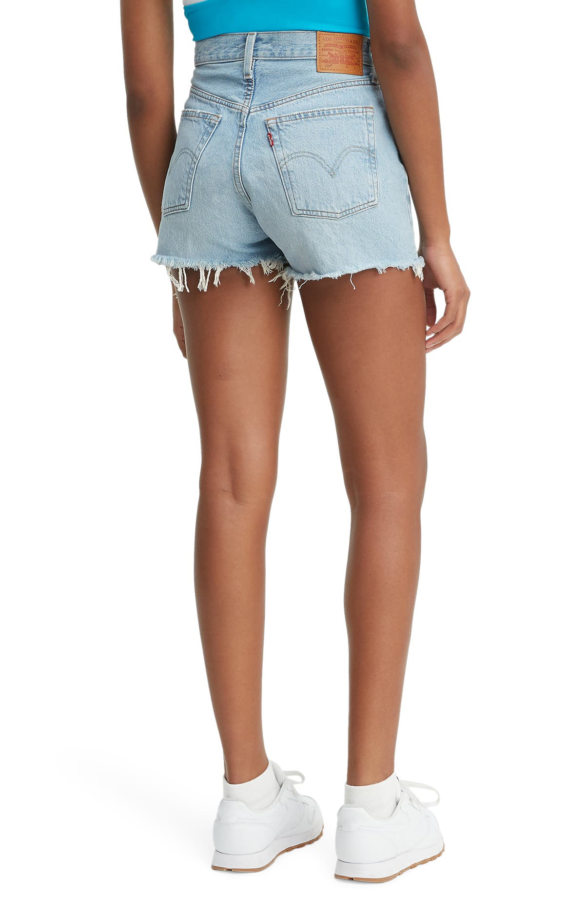 ce604860 Levi's® 501® High Waist Cutoff Denim Shorts (Weak in the Knees) | Nordstrom
