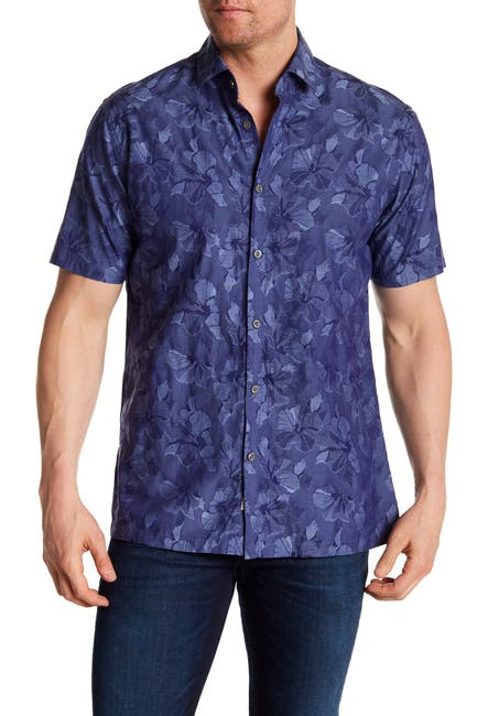 Image of COASTAORO Pacifico Hawaiian Short Sleeve Regular Fit Shirt