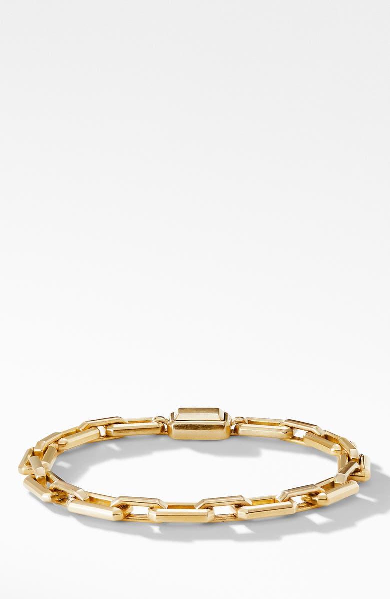 DAVID YURMAN Novella Chain Bracelet in 18K Yellow Gold, Main, color, 710