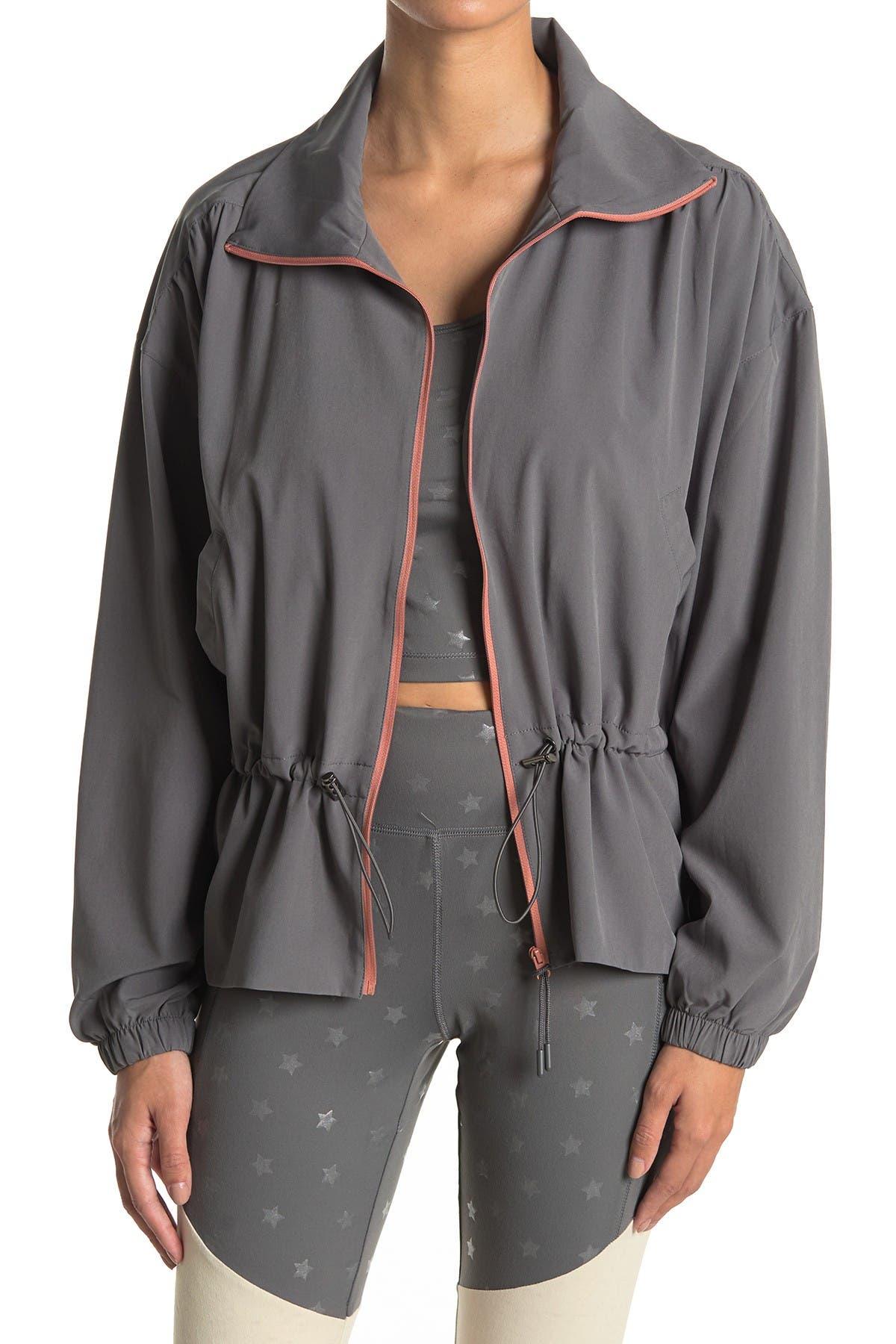 PJ SALVAGE Drawcord Waist Hooded Jacket