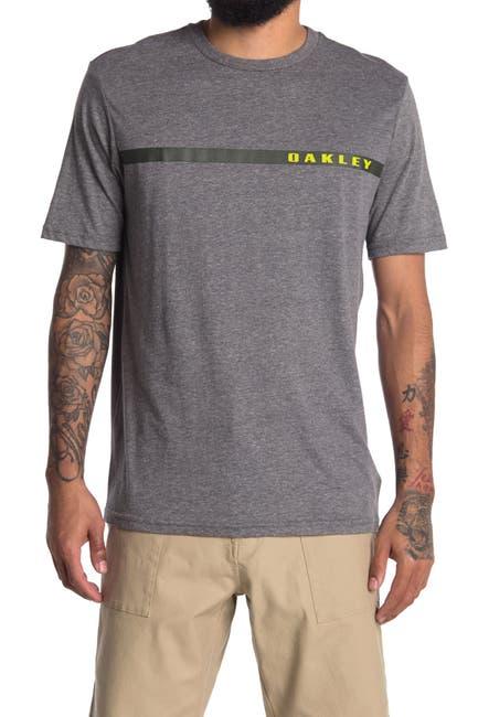 Image of Oakley Single Stripe Short Sleeve T-Shirt
