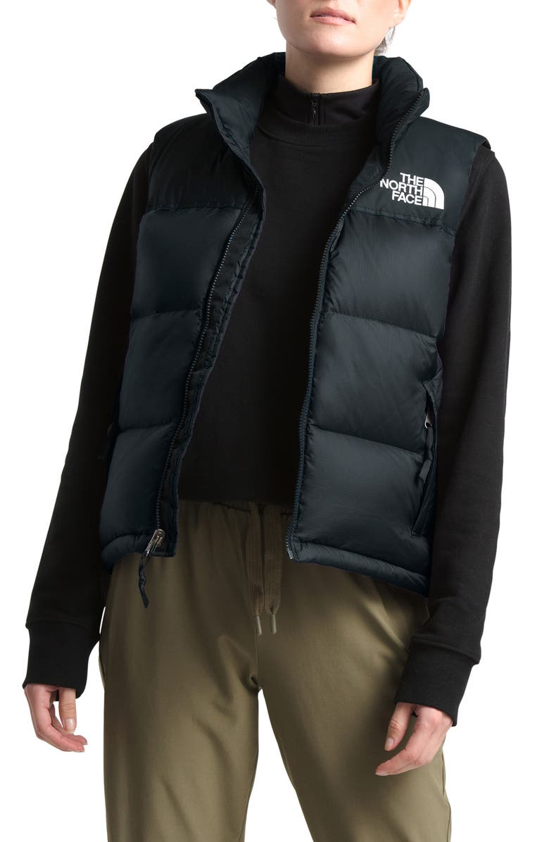 THE NORTH FACE Nuptse 1996 Packable 700-Fill Power Down Vest, Main, color, TNF BLACK