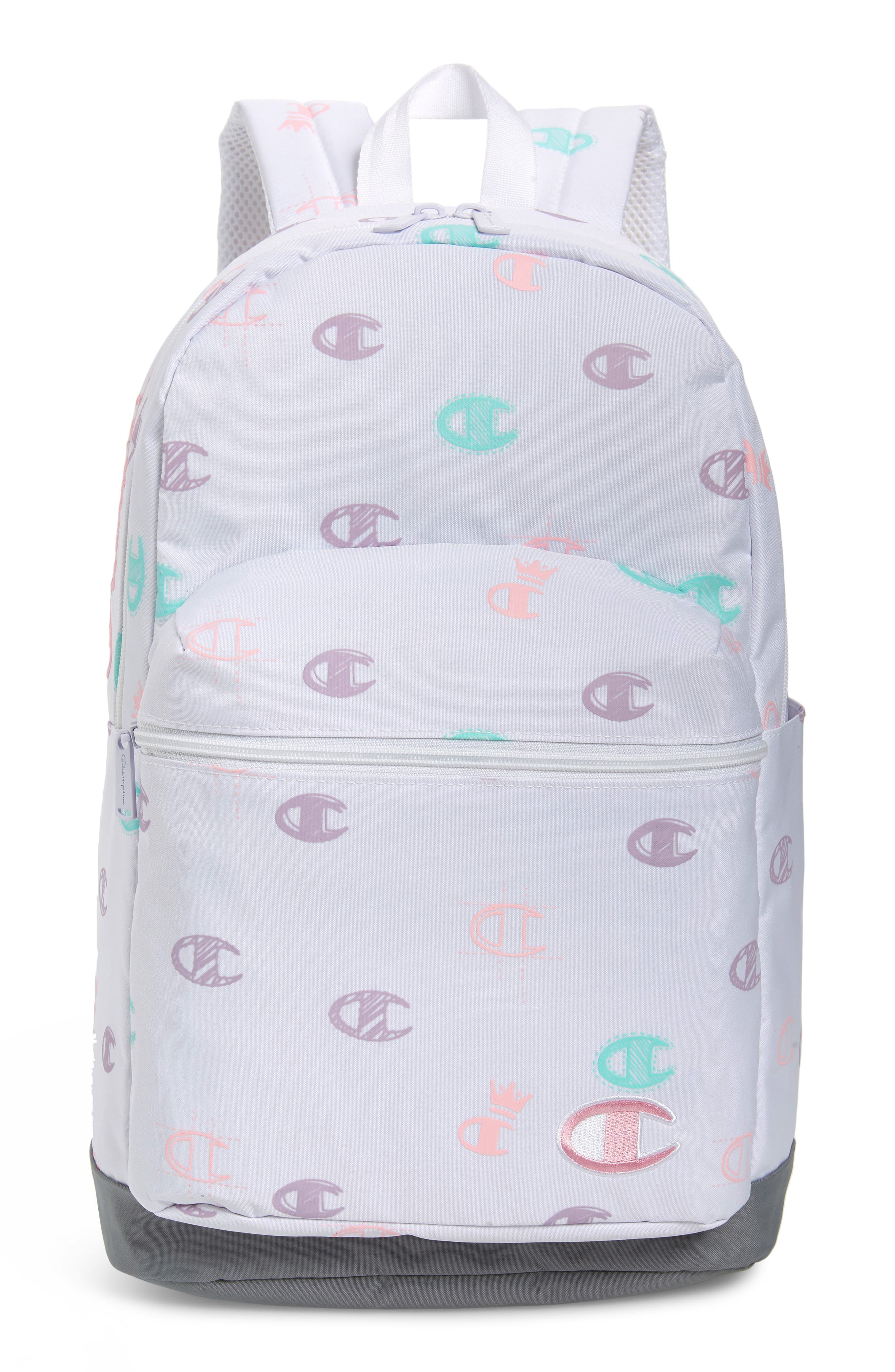 Girls Champion Youth Supercize Logo Backpack