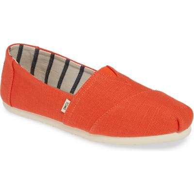 Toms Classic Canvas Slip-On B - Red