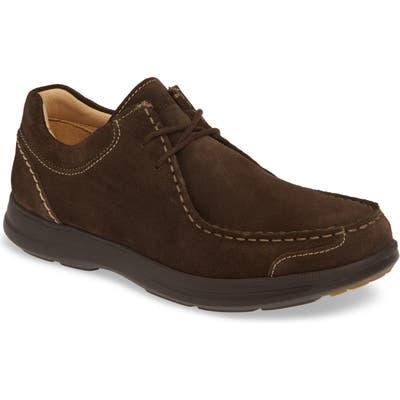 Samuel Hubbard Great Strides Moc Toe Chukka Shoe- Brown