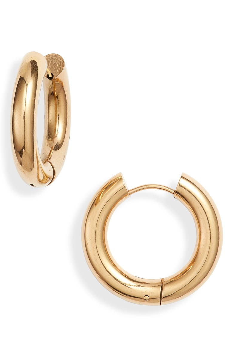 ELLIE VAIL Winona Medium Hoop Earrings, Main, color, GOLD