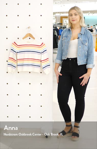 Rainbow Stripe Sweater, sales video thumbnail