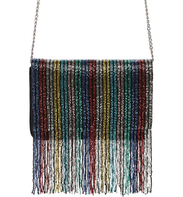 SOLE SOCIETY Duane Beaded Clutch, Main, color, 020