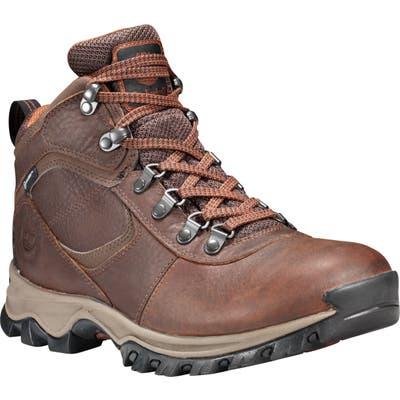 Timberland Mt. Maddsen Waterproof Hiking Boot, Brown