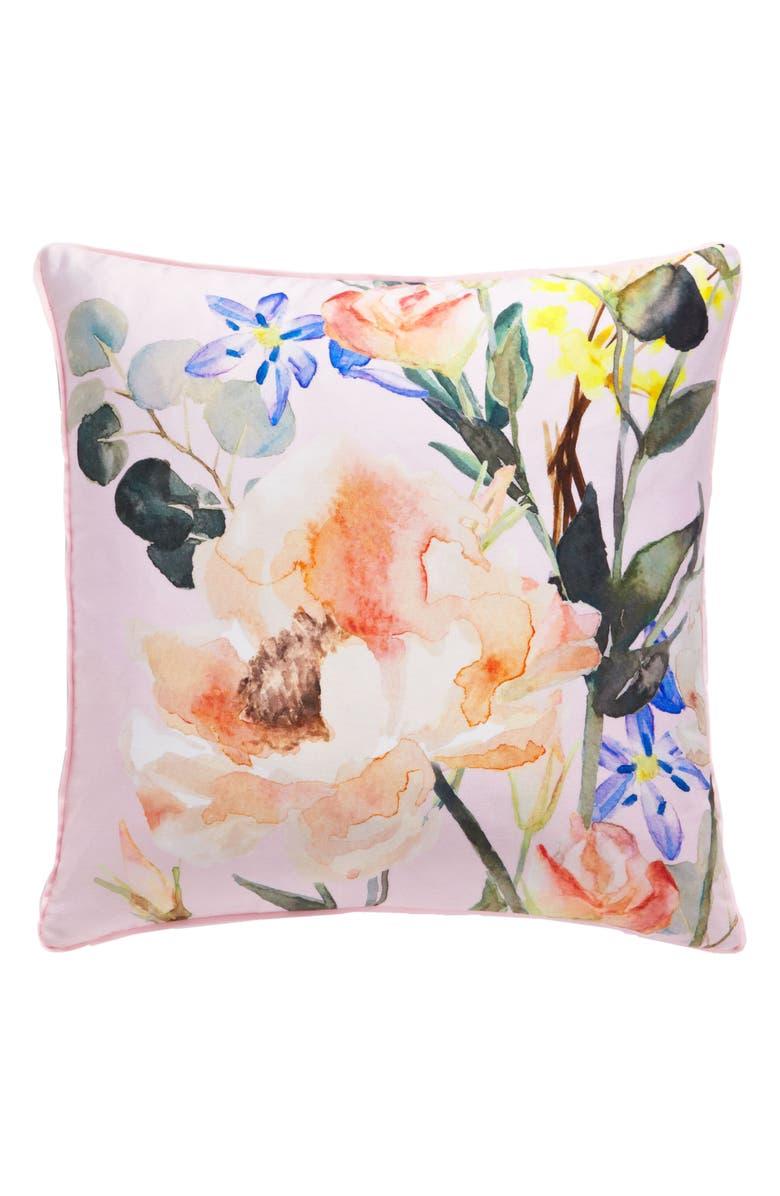 TED BAKER LONDON Elegant Accent Pillow, Main, color, 650