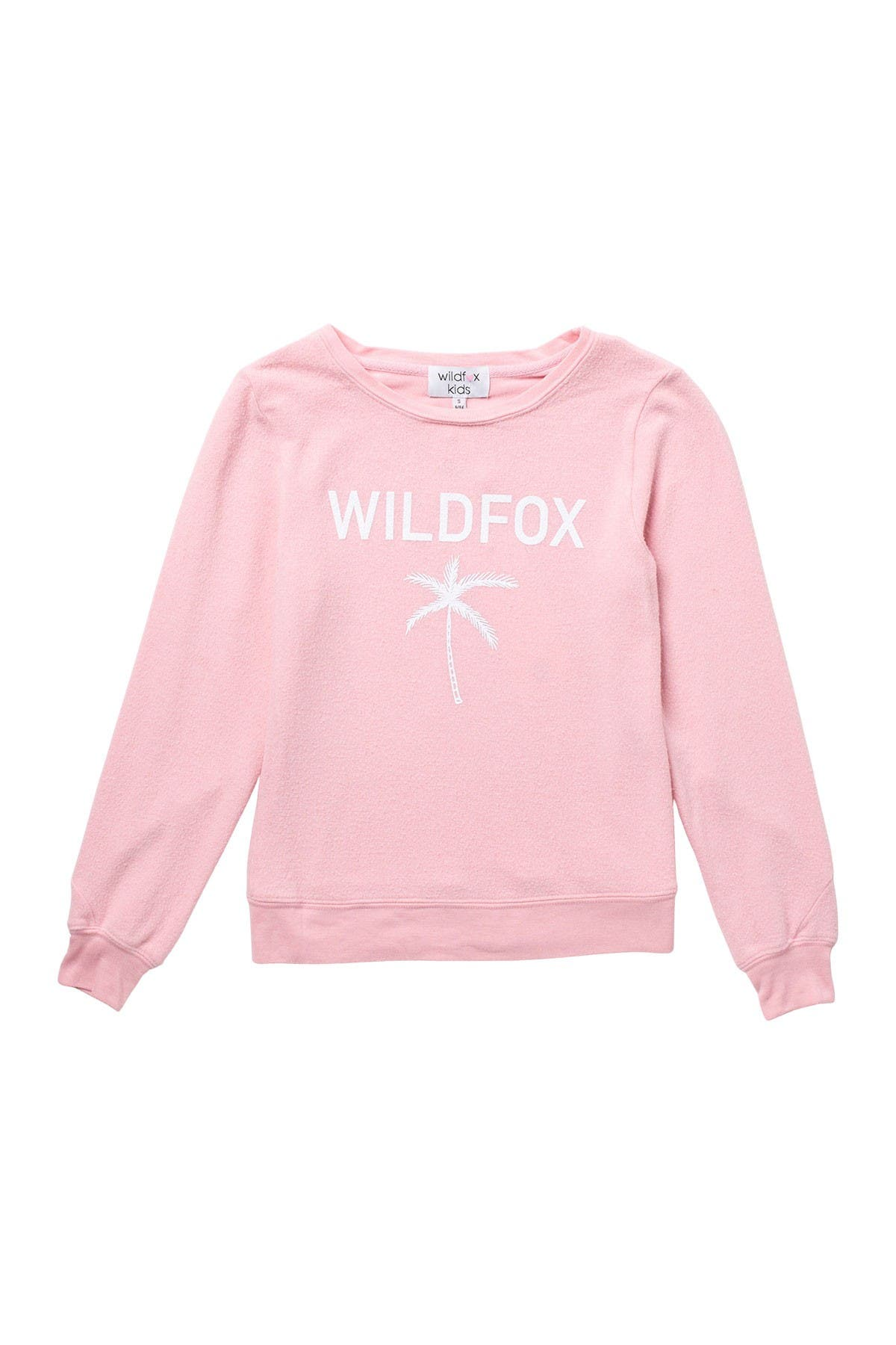 Image of WILDFOX Palm Tree Logo Knit Pullover