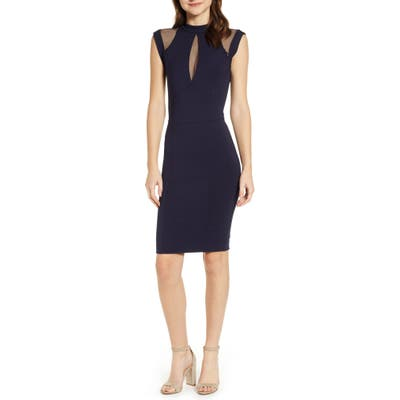 Sentimental Ny Galactica Body-Con Dress, Blue
