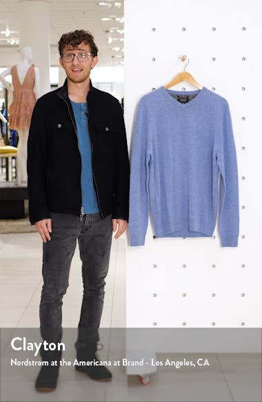 Nordstrom Cashmere V-Neck Sweater, sales video thumbnail