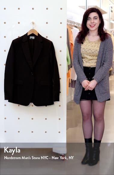 Single Breasted Wool Jacket, sales video thumbnail