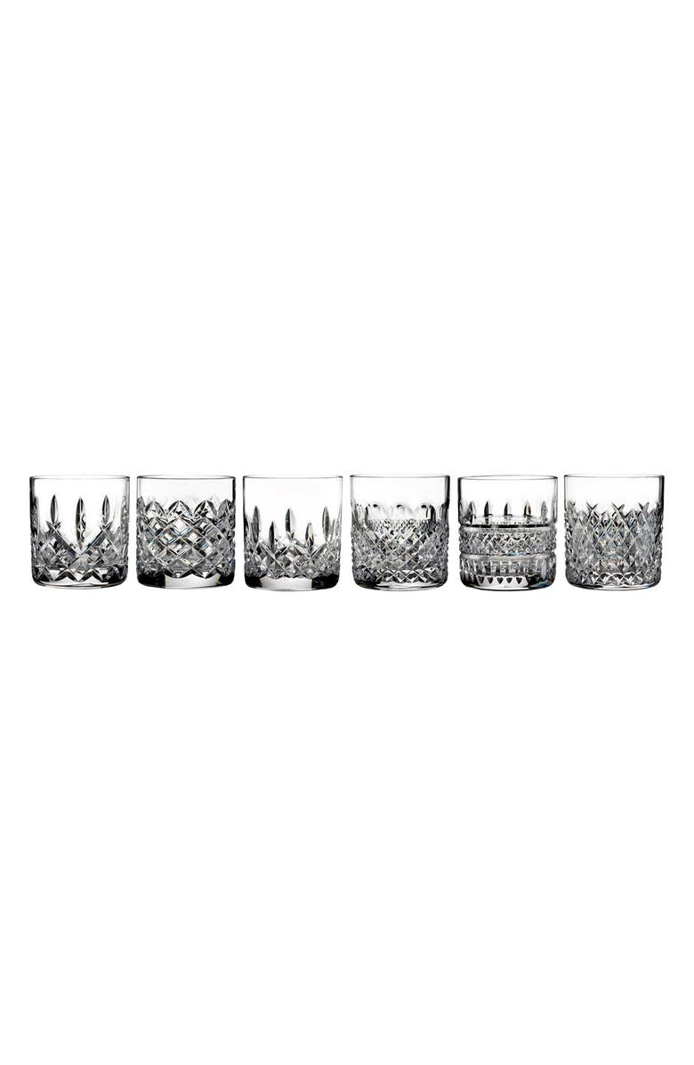 WATERFORD 'Heritage' Lead Crystal Tumblers, Main, color, 100