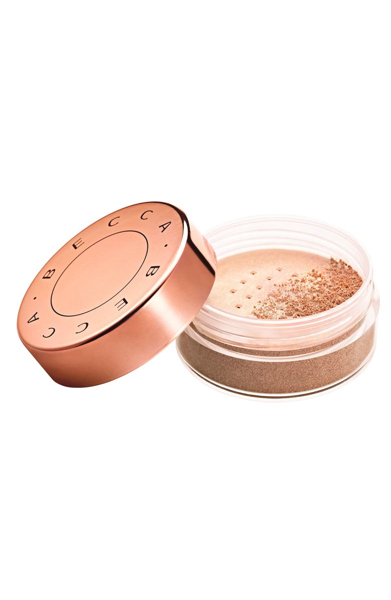 BECCA COSMETICS BECCA Champagne Pop Glow Dust Highlighter, Main, color, CHAMPAGNE POP