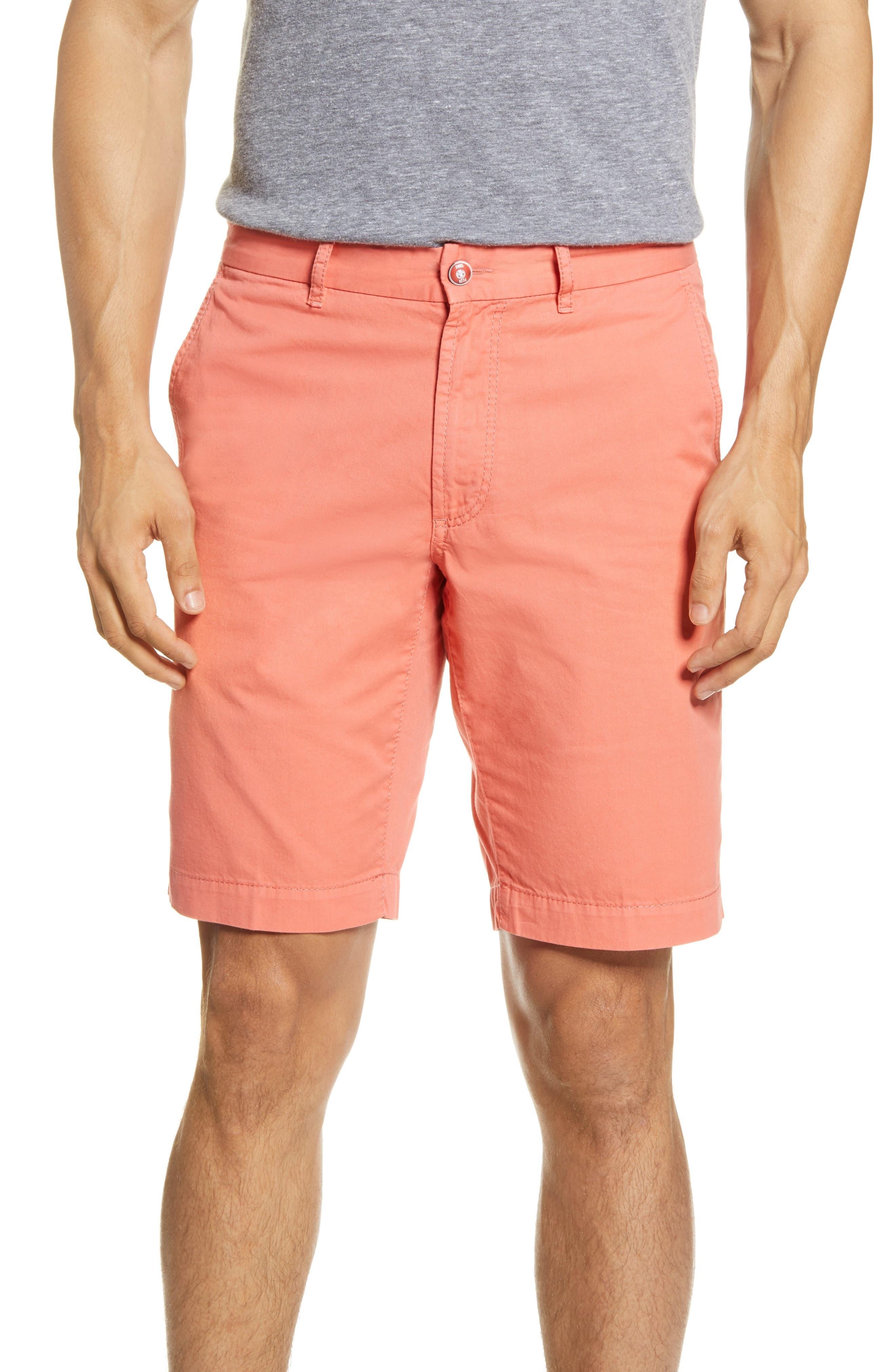 Bristol Flat Front Chino Shorts