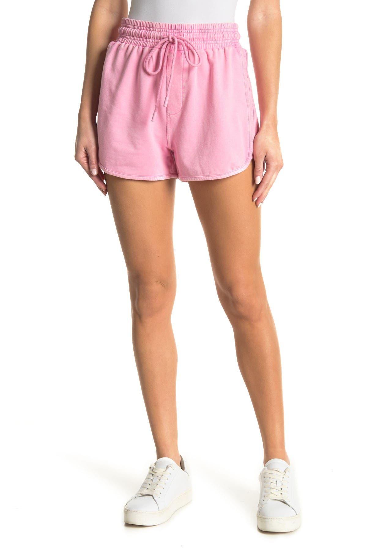 Image of Elodie Washed Drawstring Shorts