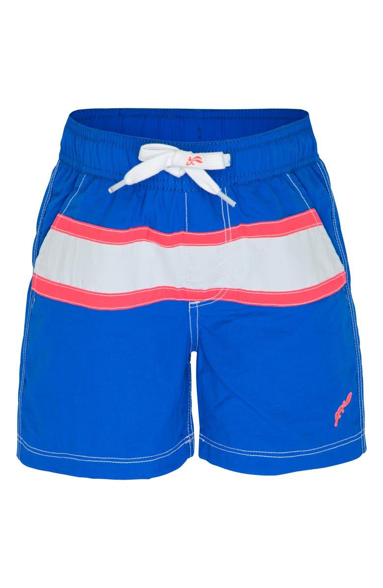 PLATYPUS AUSTRALIA Yoke Swim Shorts, Main, color, BLUE
