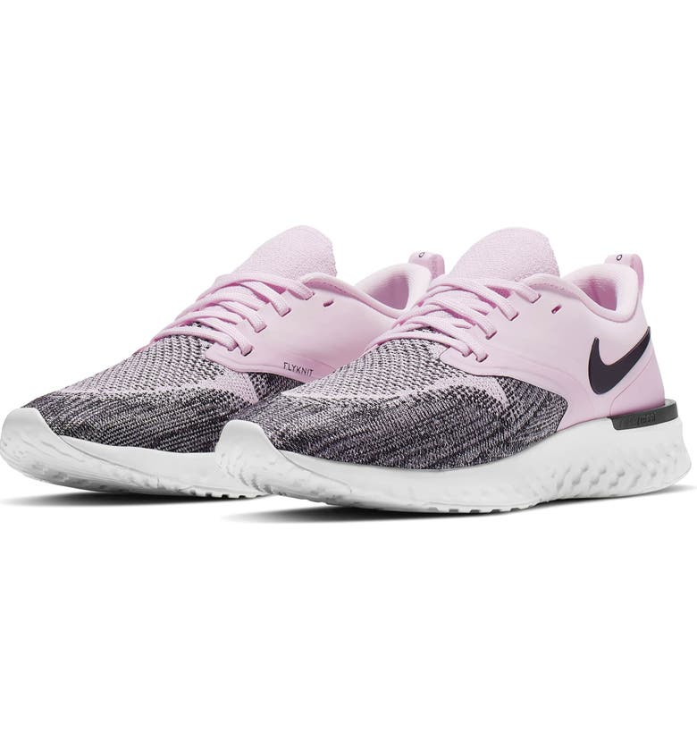 NIKE Odyssey React 2 Flyknit Running Shoe, Main, color, 650