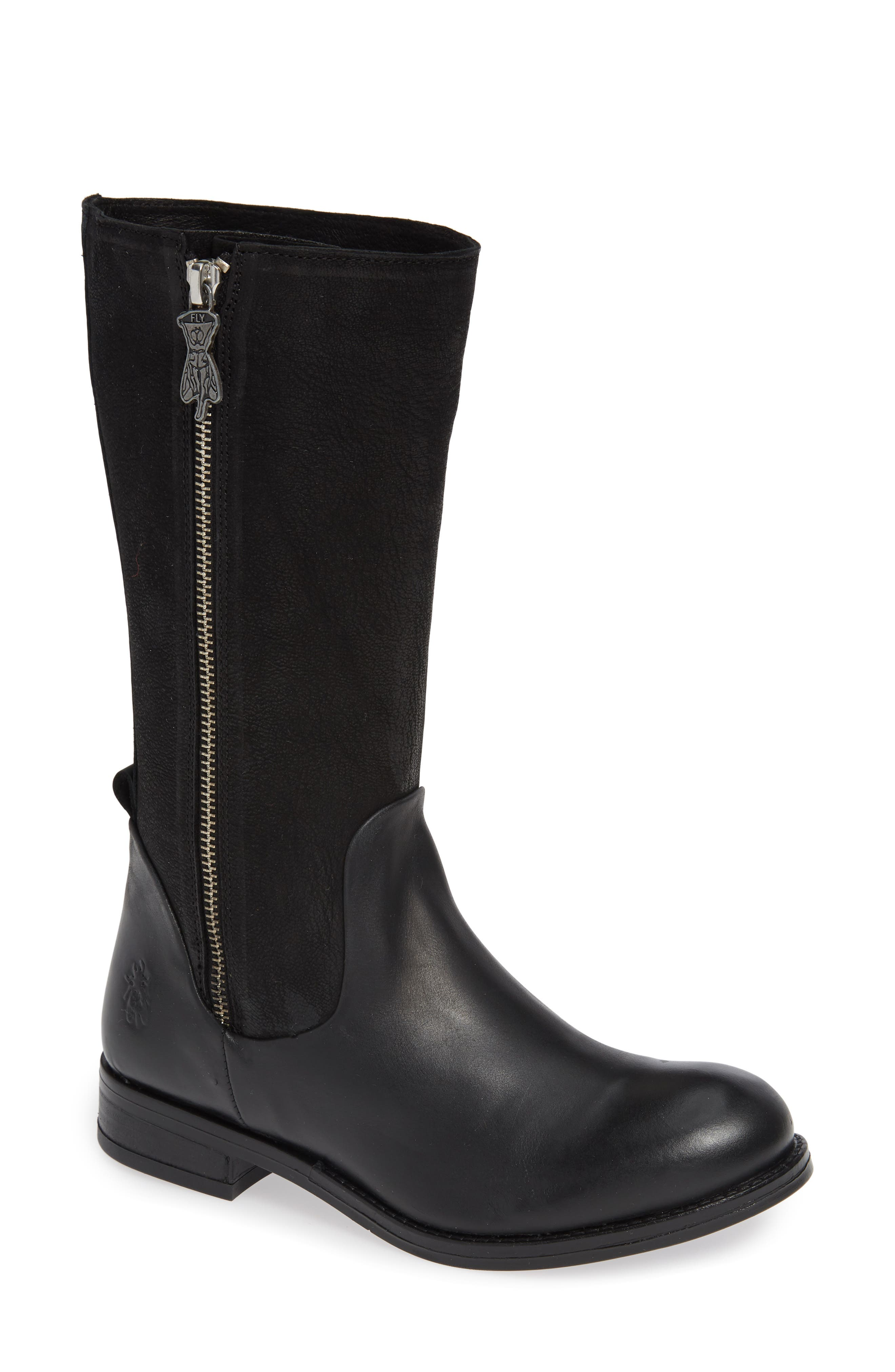 Fly London Aedi Boot, Black