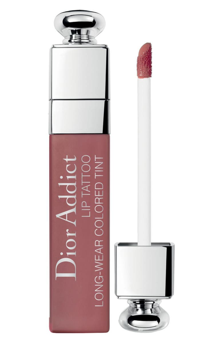 DIOR Addict Lip Tattoo Long-Wearing Color Tint, Main, color, 491 NATURAL ROSEWOOD