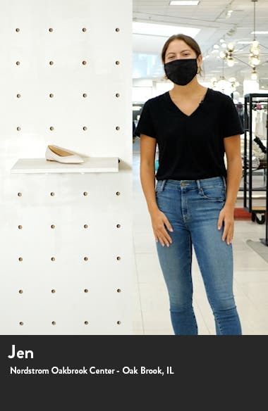 Stacey Pointed Toe Flat, sales video thumbnail