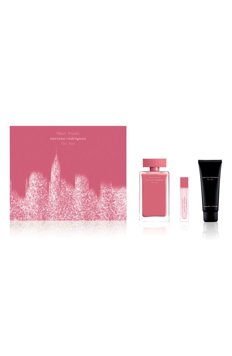 NARCISO RODRIGUEZ For Her Fleur Musc Eau de Parfum Set, Main, color, 000