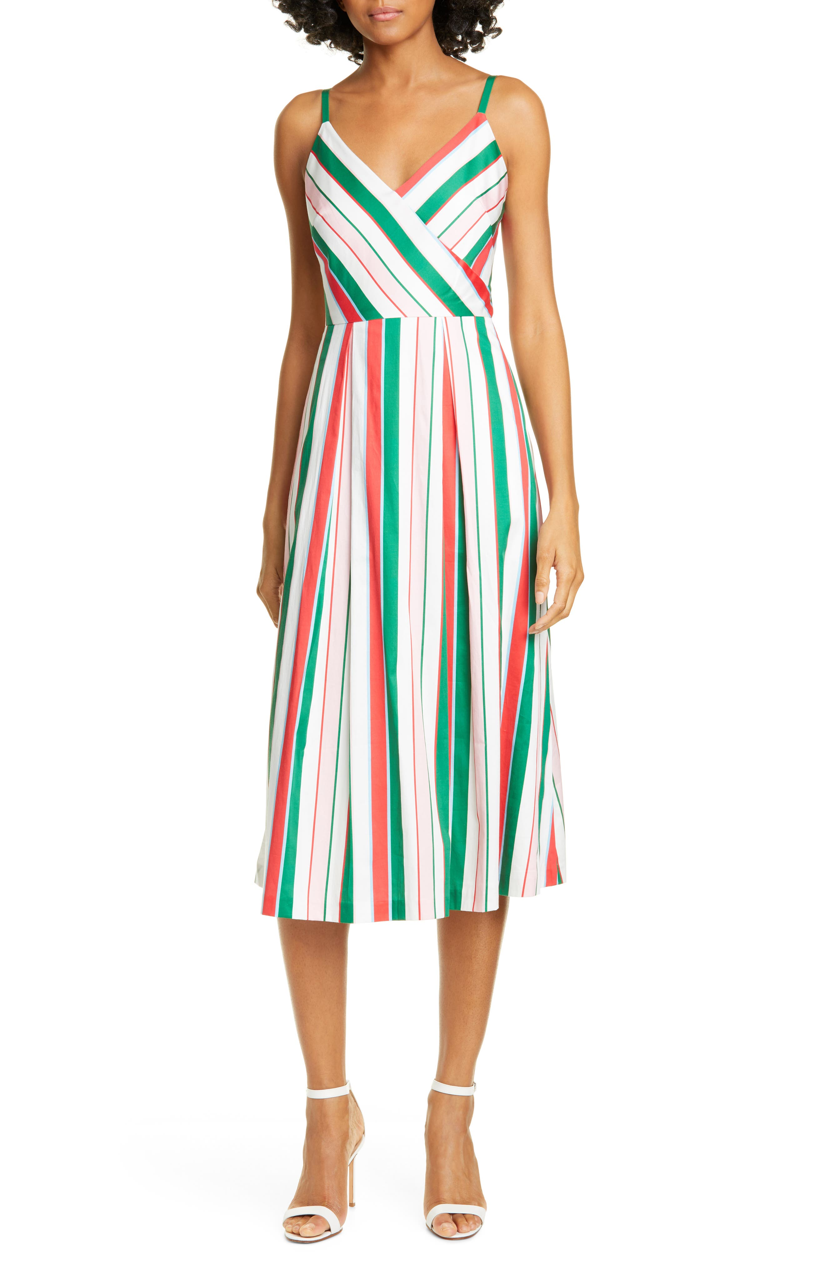 Ted Baker London Noriie Tutti Frutti Sundress, White