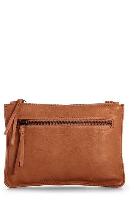 Image of Day & Mood Lily Leather Crossbody Bag