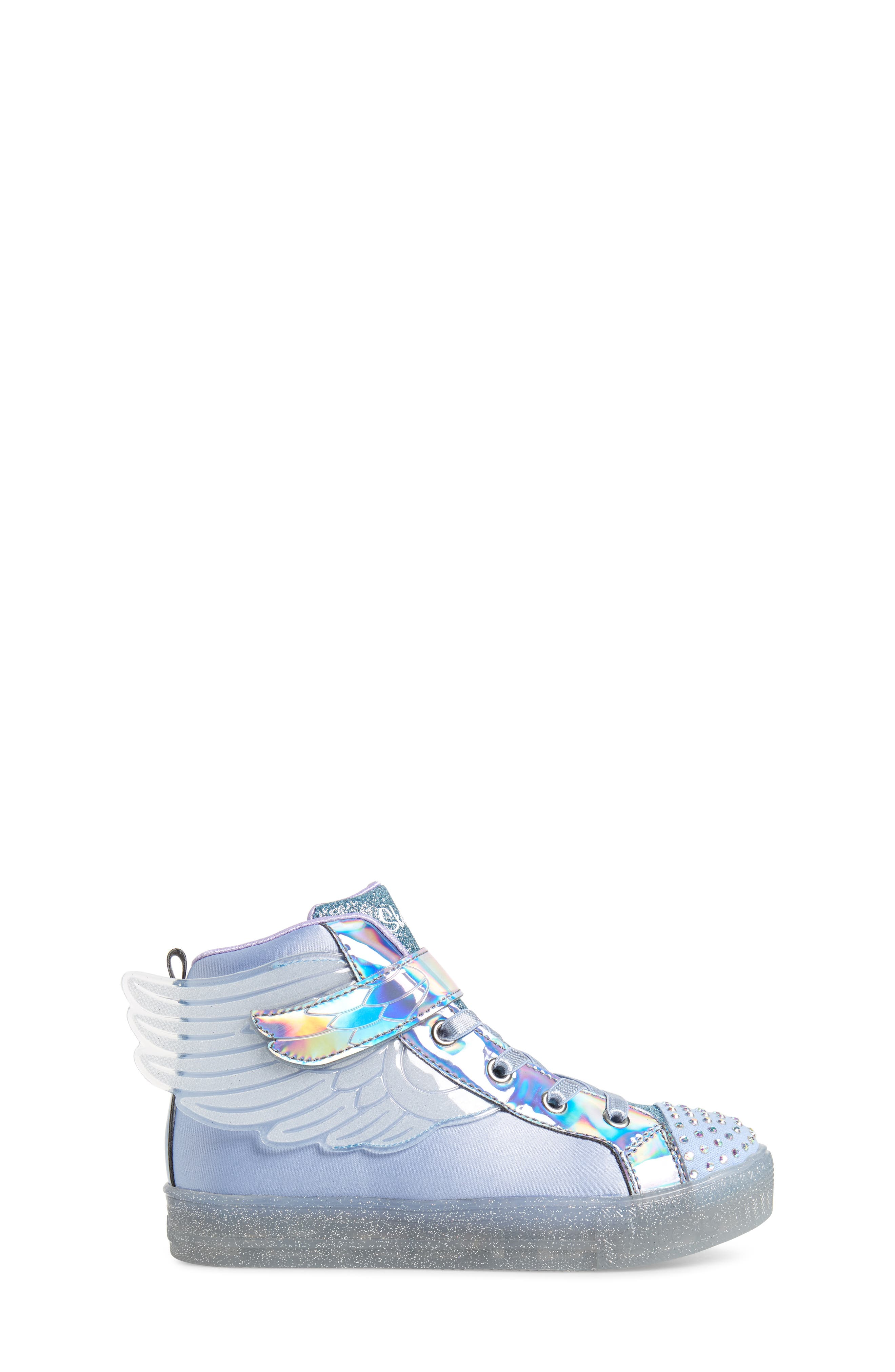,                             Twinkle Toes Light-Up Sneaker,                             Alternate thumbnail 3, color,                             PERIWINKLE