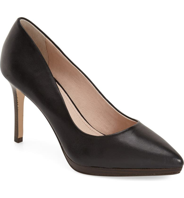 LOUISE ET CIE 'Harlow' Pointy Toe Pump, Main, color, 001