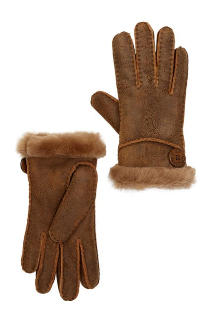 Image of UGG Genuine Dyed Shearling Bailey Glove