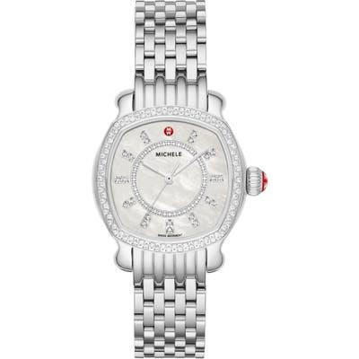 Michele Lilou Diamond Bracelet Watch,