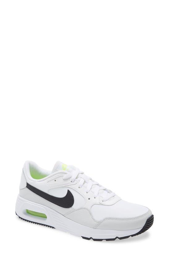 Nike Air Max Sc Sneaker In White/ Black