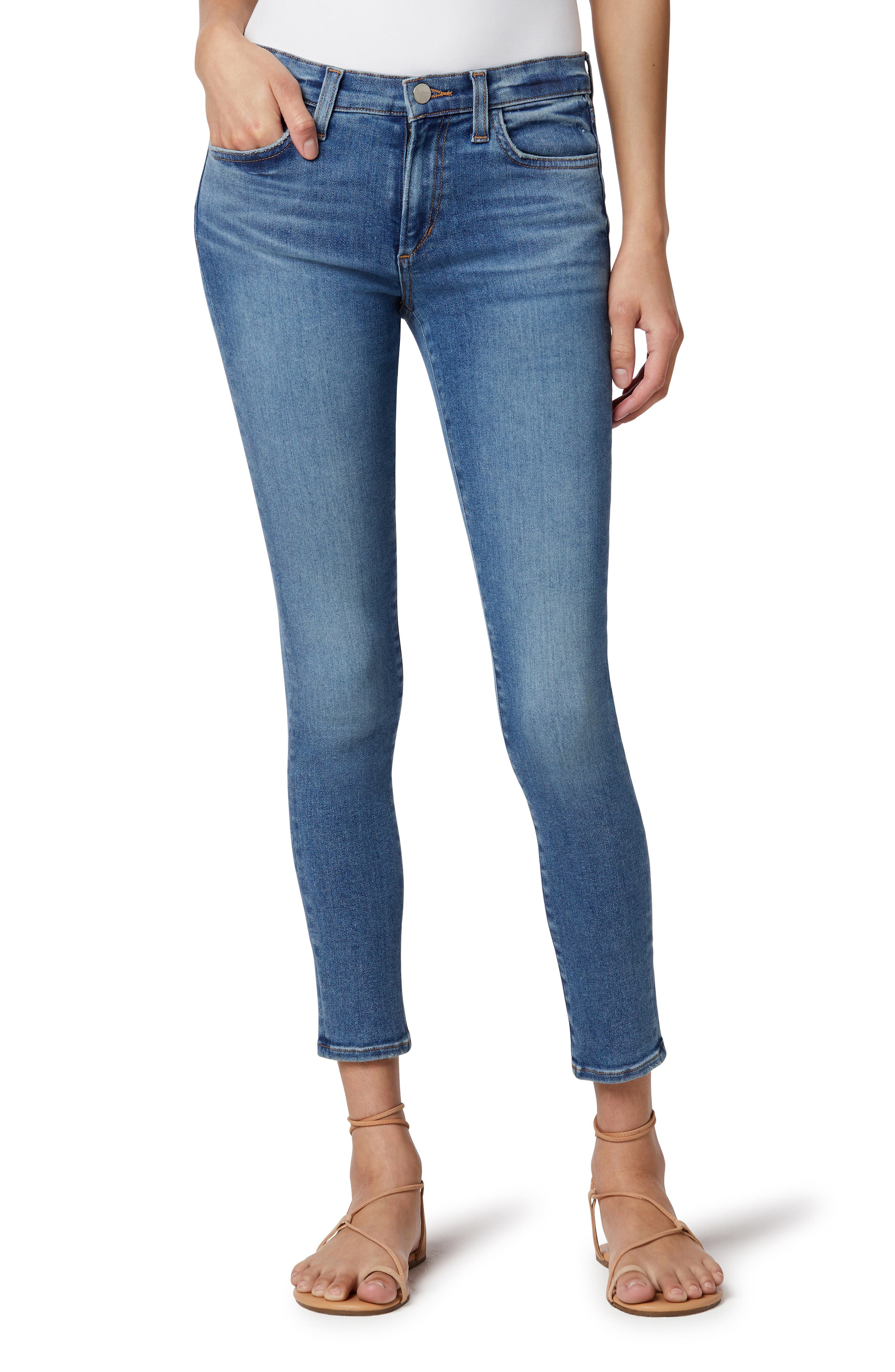 The Icon Ankle Organic Cotton Blend Skinny Jeans