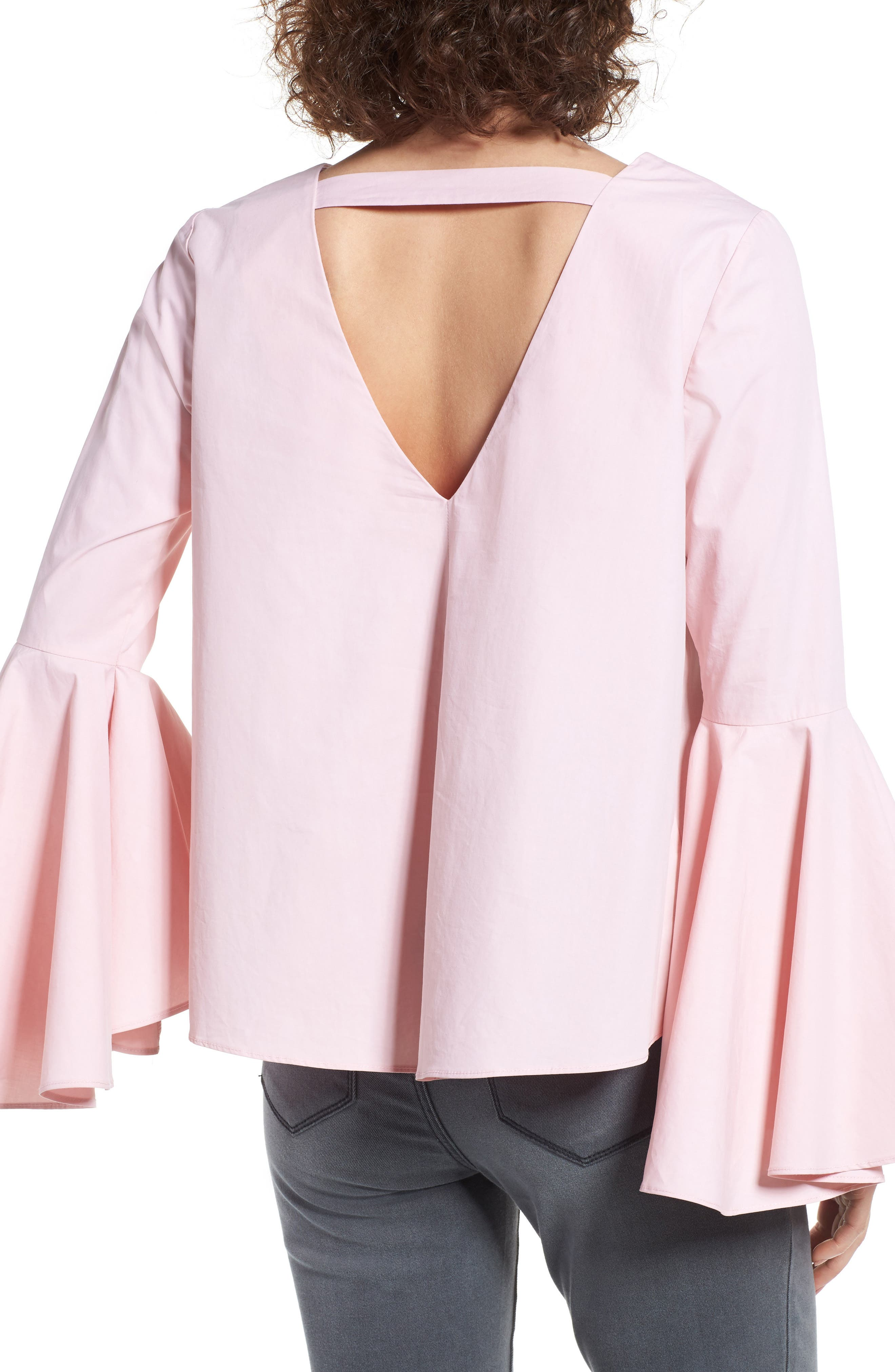 ,                             Bell Sleeve Top,                             Alternate thumbnail 12, color,                             654