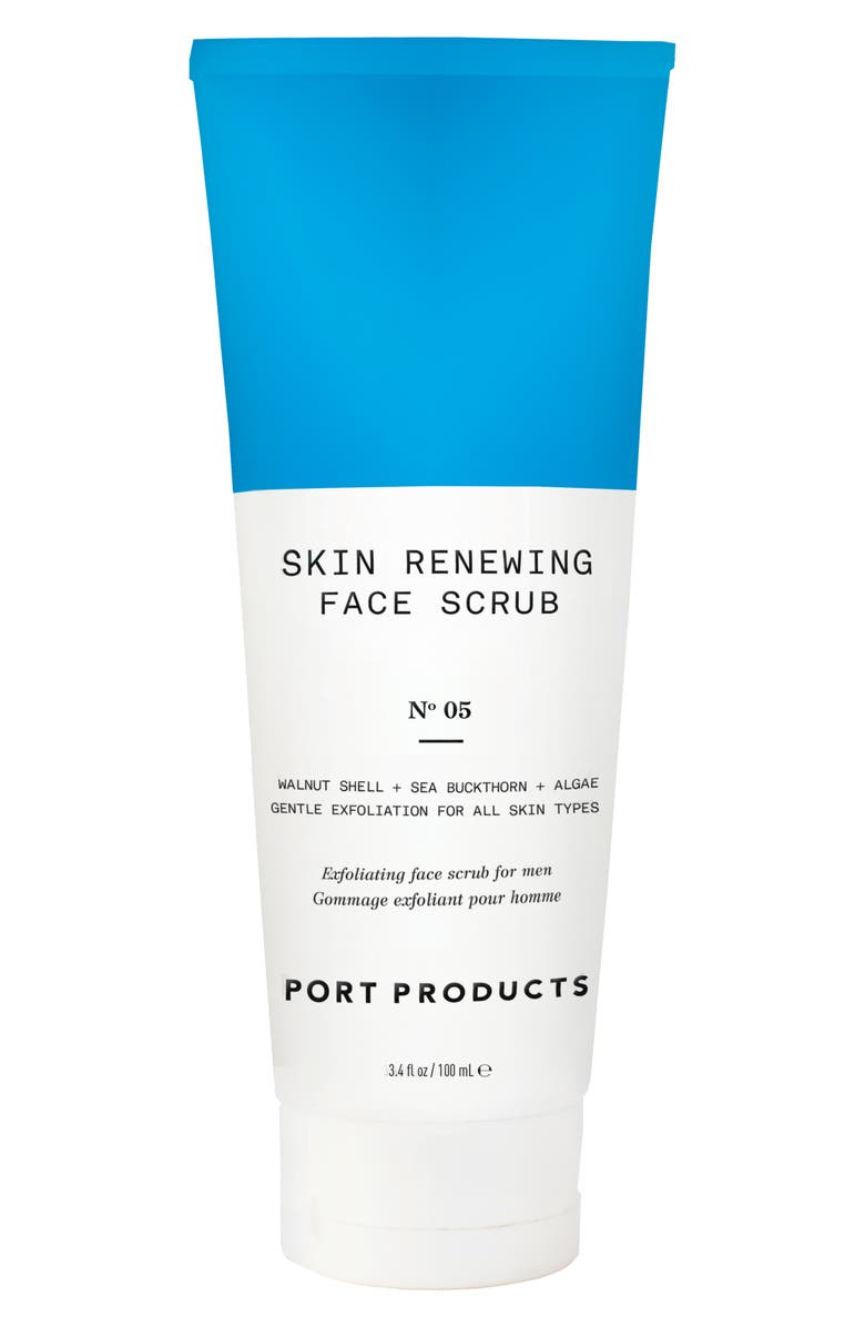 PORT PRODUCTS Skin Renewing Face Scrub, Main, color, NO COLOR