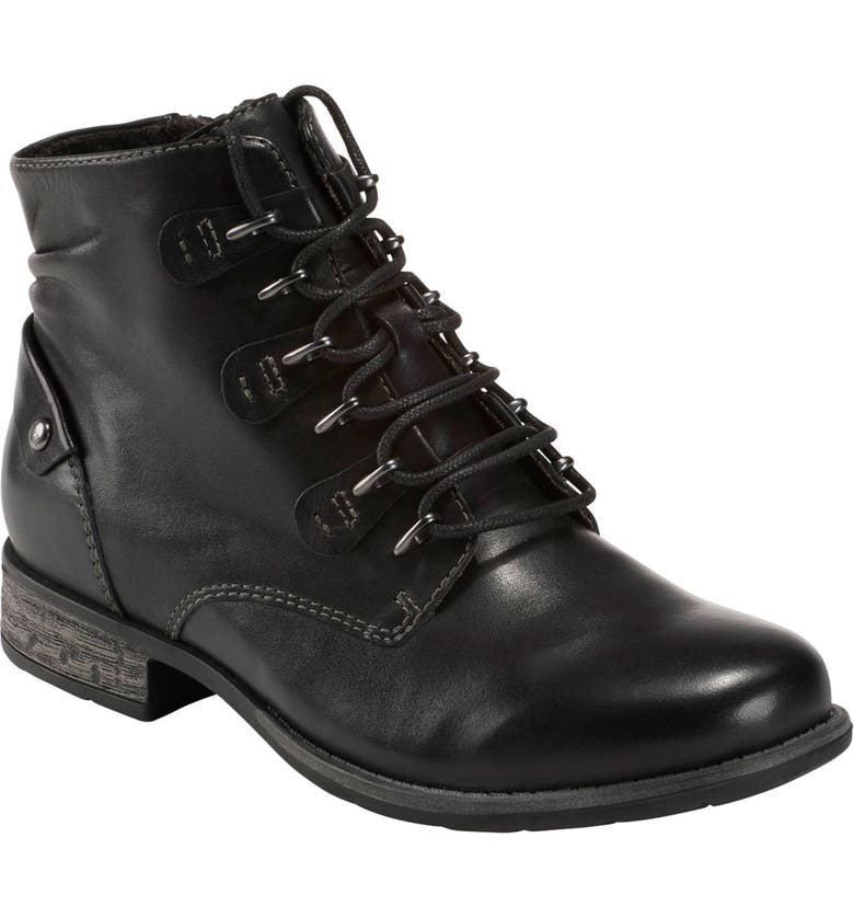 EARTH<SUP>®</SUP> Avani 2 Bahn Lace-Up Boot, Main, color, BLACK LEATHER