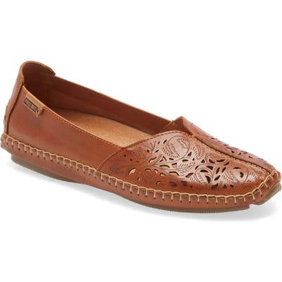 Pikolinos Jerez Perforated Loafer, Brown