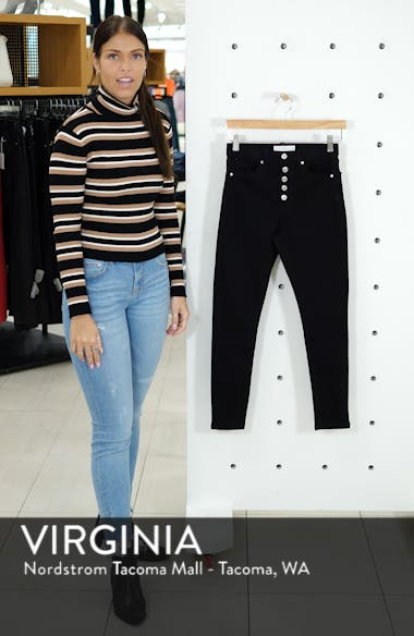 Jamie High Waist Button Fly Jeans, sales video thumbnail